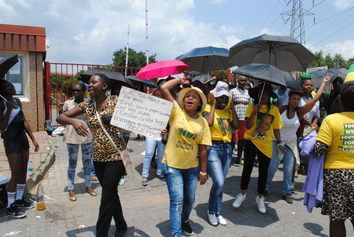 Students went on strike on the morning of 26 and 27 January 2015; at Central Johannesburg College Alexandra Campus, which lead to a temporary closure of the institution.