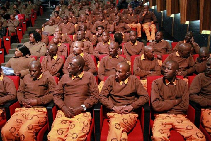 The talented Boksburg Correctional Centre Offender Choir performed several times at the launch.
